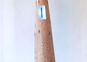 Holzlampe 1